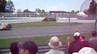 2008 Montreal GP Formula One Start second lap