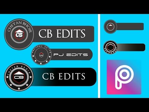How To Make CB EDITS Logo In PicsArt    Create CB EDITS Logo In Android    Blank CB EDITS Logo