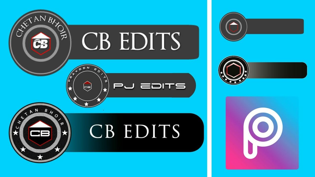 how to make cb edits logo in picsart create cb edits logo in