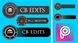 How To Make CB EDITS Logo In PicsArt || Create CB EDITS Logo In Android || Blank CB EDITS Logo
