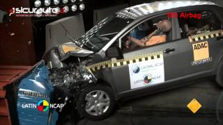 Crash test Latin NCAP - Nissan Tiida sedan