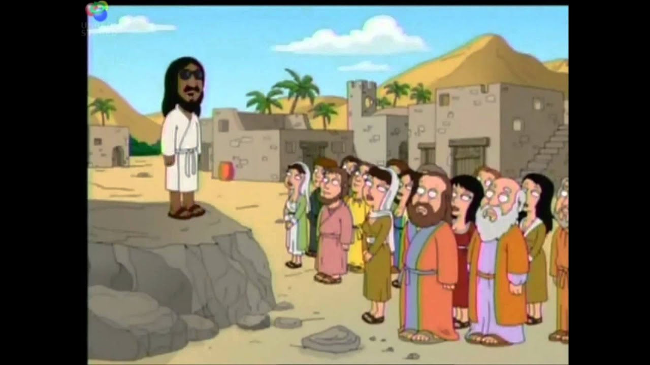 Black Jesus Quotes Awesome Black Jesusfamily Guy  Youtube