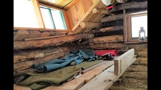 LOG CABIN ~ Ruṡtic Camping at Winter Quarters - 1st Minn Sharpshoooters