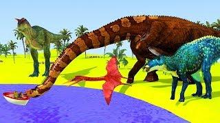 Развивающий Мультик про Динозавров Смотрим и Учим Динозавров - Мультики для Малышей