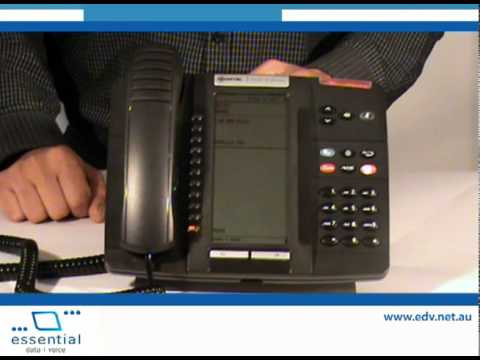 EDV- Mitel 5320 IP Phone Tutorial - Features, Manage Calls and Call  Forwarding