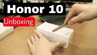 Honor 10 UNBOXING
