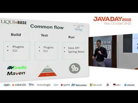 JavaDay Kyiv 2016: Database versioning and migration in Java based project (Roman Uholnikov) (RU)