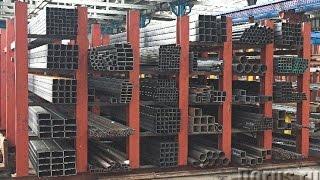 видео Металлопрокат : Квадрат стальной
