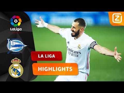 FANTASTISCH POTJE VOETBAL ⚽   Deportivo Alavés Vs Real Madrid   La Liga 2020/21   Samenvatting
