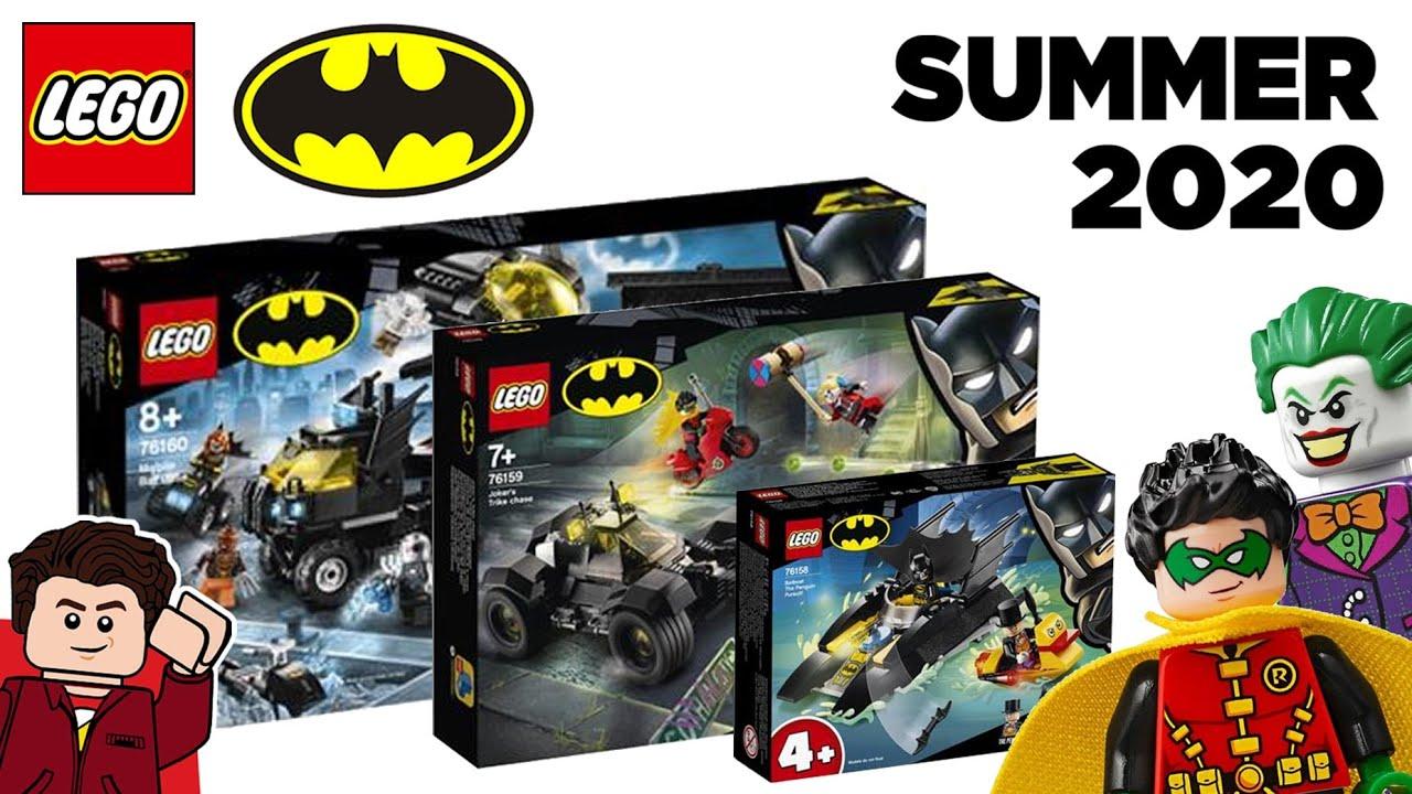 Every Lego Batman 2020 Summer Sets Revealed Youtube