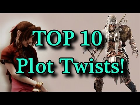 TOP 10 Plot Twists In Gaming!