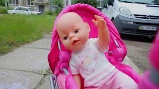 The Boo Boo story from Yana and Doll Nastya baby born