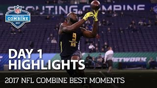 2017 NFL Combine Day 1 Highlights | NFL