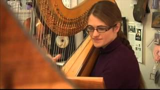 Central Illinois Harpist Deep Connection To Music