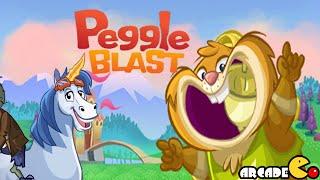 Peggle Blast Gameplay Chapter 2 Jimmy Lightning Level 16 - 21 3 Stars Walkthrough