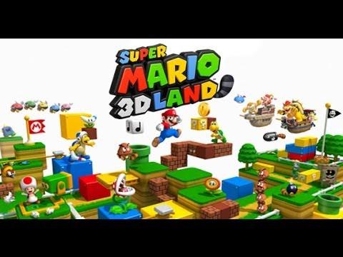 Como conseguir vidas infinitas en Mario 3D Land   Tutorial