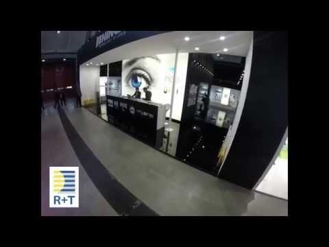 R+T 2015 fair in Stuttgart: Benincà Holding stand