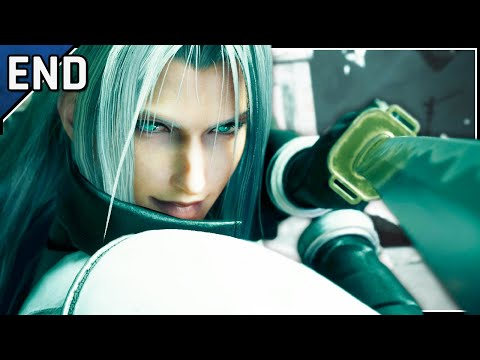Edge Of Creation - Let's Play Final Fantasy VII Remake Blind Part 44 Ending [Chapter 18 Gameplay]