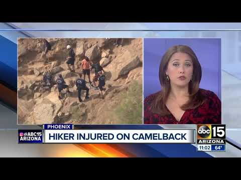 Phoenix fire rescues several people on Camelback Mountain