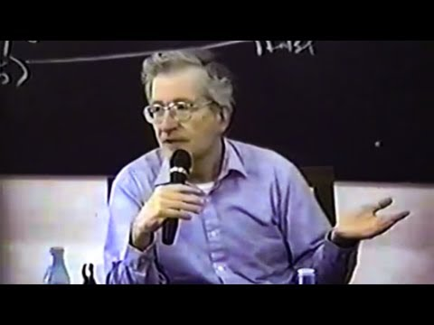 Noam Chomsky - The Concept of a Person