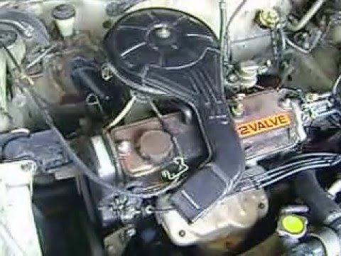 2e Toyota Engine In Ee90 Youtube