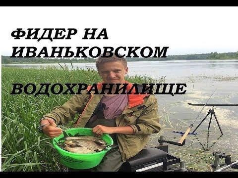 рыбалка на иваньковском водохранилище на фидер