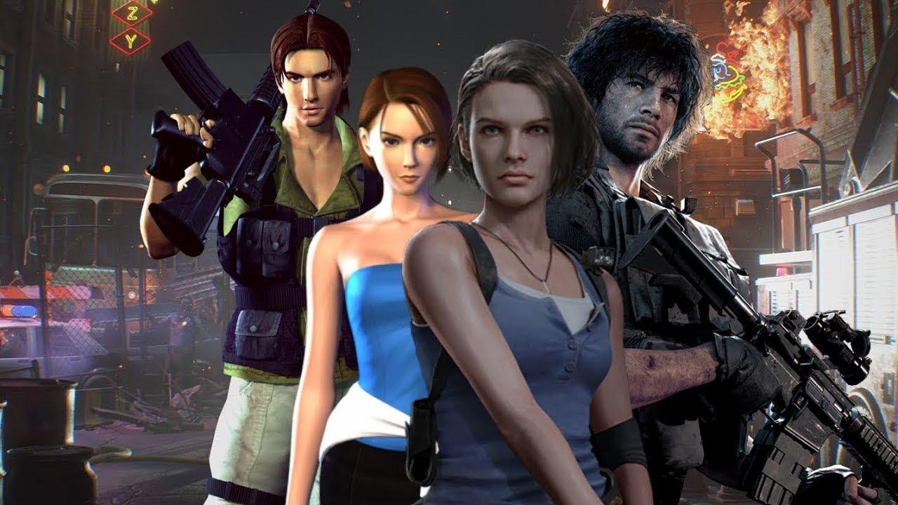 прохождение Resident Evil Remake 3,часть 6
