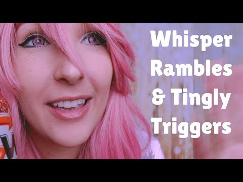 ASMR - TINGLY TRIGGERS ~ Animu Gril Taps on Junk and Talks 2 mUch About Fish Stuff ~