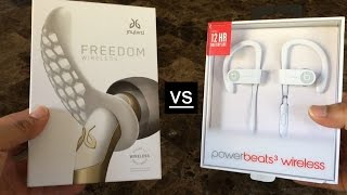 Powerbeats 3 vs Jaybird Freedom Wireless Earbuds
