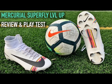 NIKE MERCURIAL SUPERFLY LVL UP | REVIEW & PLAY TEST