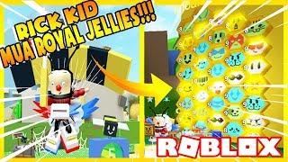 Roblox ( Bee Swarm Simulator ) MƯỢN ACC RICH KID ĐẬP 200 TRIỆU MUA ROYAL JELLIES