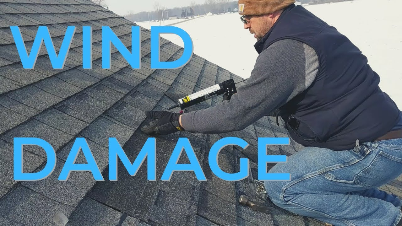 How To Repair Roof Shingles Youtube
