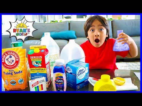 Easy DIY Science Experiment for Kids with Acid Base Indicator!!!