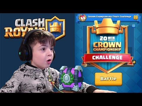 CROWN CHAMPIONSHIP FINALS CHALLENGE - Clash Royale