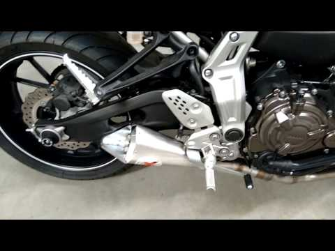 yamaha mt 07 ixil x55 video 2 youtube. Black Bedroom Furniture Sets. Home Design Ideas
