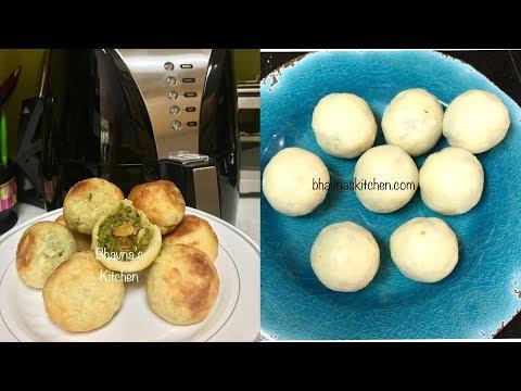 How to make Tuvar Lilva Kachori Video Recipe Air Fryer No Fry | Bhavna's Kitchen