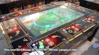 Alien Attacks fish hunter game, arcade game machine