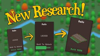 Indie Game Devlog: New + Improved Research!