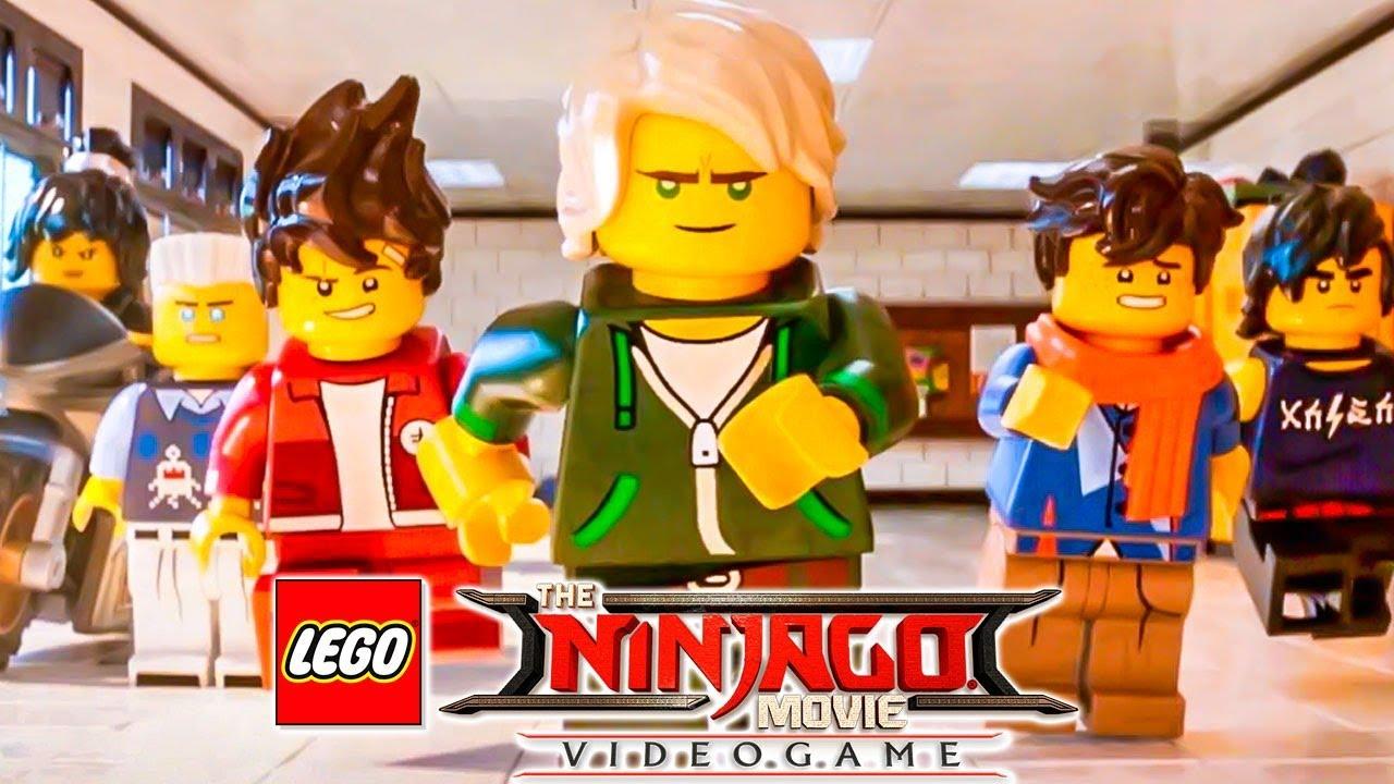 O Inicio Da Aventura Em The Lego Ninjago Movie Video Game 1