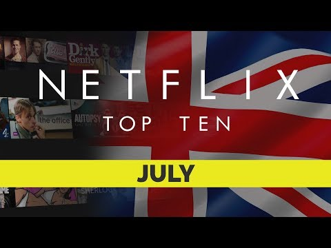Top Ten movies on Netflix UK for July 2017