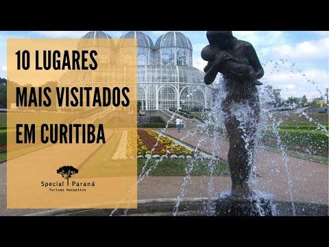 Curitiba turismo: 10 lugares mais visitados / Tourism in Curitiba: 10 most visited places