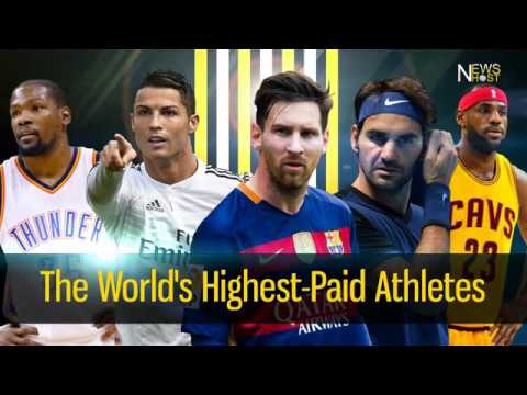 Top 5 Highest-Paid Athletes | The World's Highest-Paid Athletes Of 2016-2017