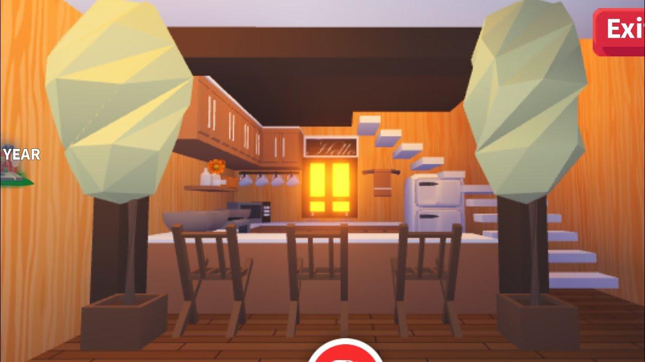 Adopt Me🌹 Kitchen Build|| Family Home - YouTube