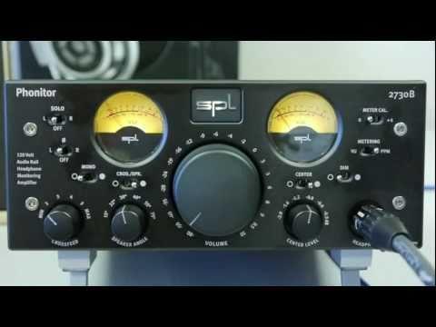 SPL Phonitor - Headphone Monitoring Amplifier - Head-Fi TV, Episode 009