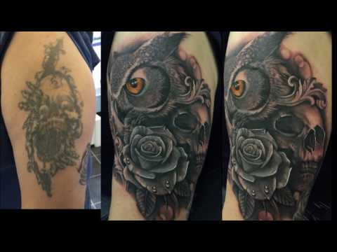 Tattoo cover up's by Richard Stokes @ Studio S