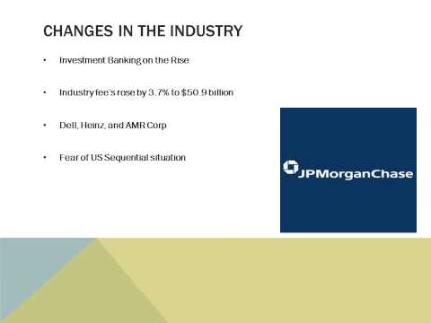 Investment Banking Group Presentation