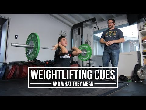 Weightlifting Cues And What They Mean | Clean | JTSstrength.com