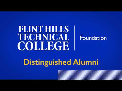Janice Robinett, Flint Hills Technical College Distinguished Alumni 2016