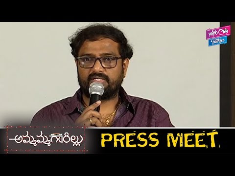 Ammamma Gari Illu Movie Director Sundar Surya Press Meet   Naga Shourya   Shamili   YOYO CineTalkies