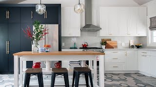 Room Tour: Modern Kitchen Makeover With Beautiful Tile